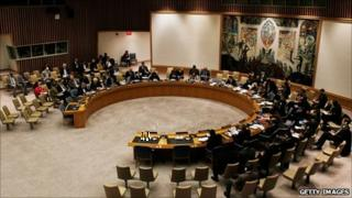 UN Security Council meeting (28 March 2011)