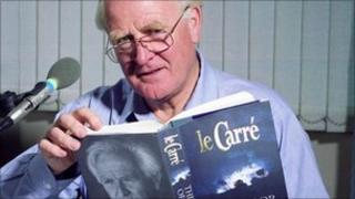 John le Carre, pictured in 1997