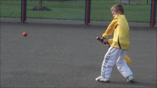 Street20 cricket being played in Basildon
