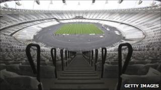 Olympic Stadium interior