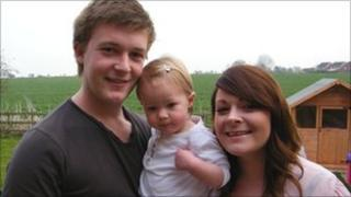 Ben, April and daughter Darcie