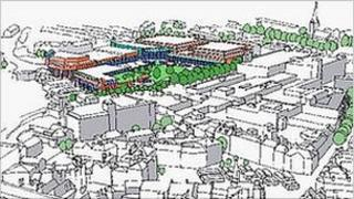 Artist's impression of Stockwell Gate North redevelopment