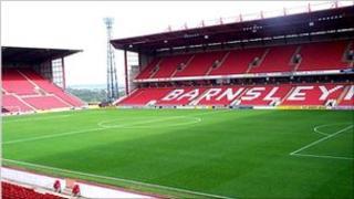 Oakwell, ground of Barnsley FC