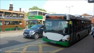 Tower Ramparts Bus Station, Ipswich