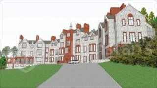 Artist's impression of how the centre will look