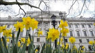 The Treasury in Whitehall, London