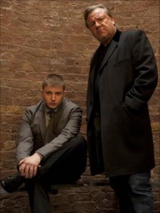 Ben Drew and Ray Winstone
