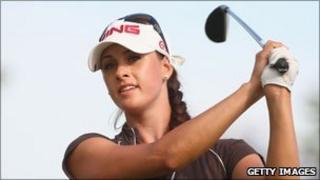 Russian professional golfer Maria Verchenova