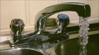 Running tap