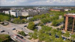 Milton Keynes town centre