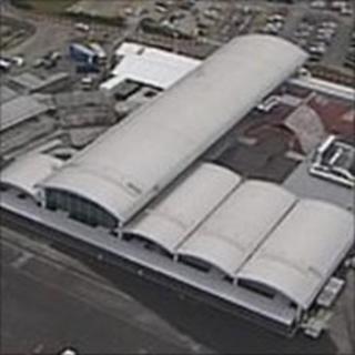 New terminal building