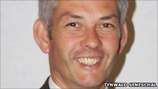 Chairman of the Isle of Man Water and Sewerage Authority Tim Crookall