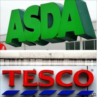 Asda and Resco logos