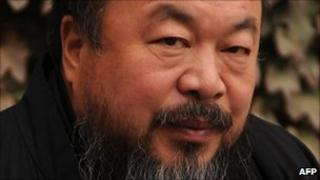 Chinese artist Ai Weiwei Nov 2010