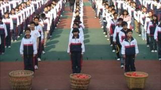 School children in Chongqing
