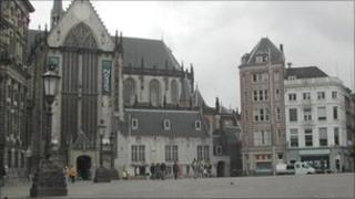 Amsterdam's Dam Square (file image from 2005)