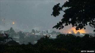 Akouedo military camp in Abidjan