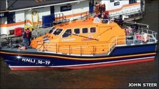 The Tamar class lifeboat that will soon operate out of Walton & Frinton