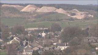 Quarry in Shap