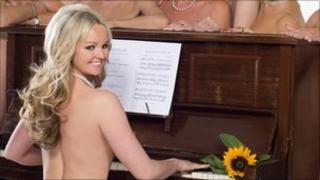 Jennifer Ellison in Calendar Girls