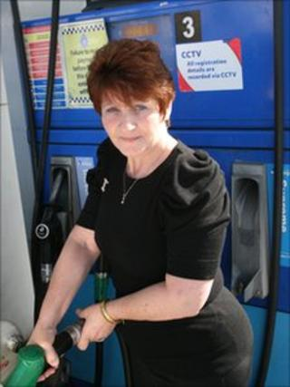 Beverly Bennett was wrongly accused of leaving a garage without paying for fuel
