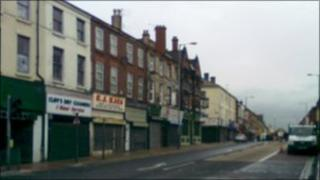 Shops on County Road