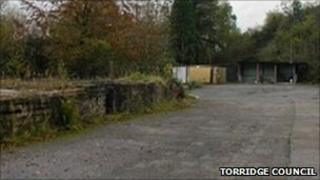 Proposed Derriton site for gypsy pitches. Pic: Torridge Council