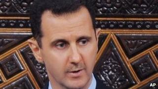 Syrian President Bashar al-Assad - 30 March 2011
