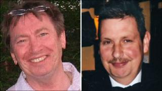 Ray Masters (left) and Michael Harper (right)