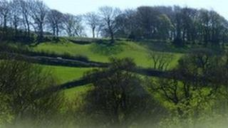 The hills of the Mayfield Valley in Sheffield