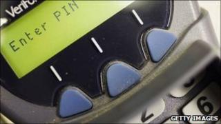 Chip and Pin machine