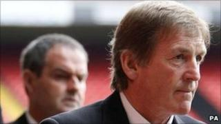 Kenny Dalglish at Hillsborough service