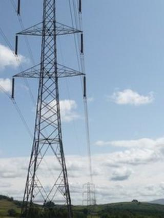 Electricity pylons (generic)