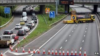 M1 closed on Friday