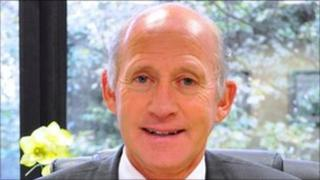 Minister for Health, David Anderson MHK