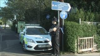 Wollaton Road attack scene