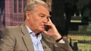 Lord Ashdown pictured in 2009