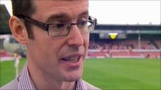 Wrexham Supporters' Trust chair Richard Owen