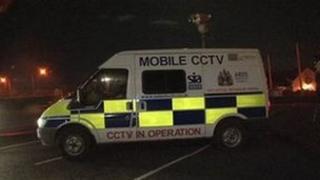 Mobile CCTV vehicle