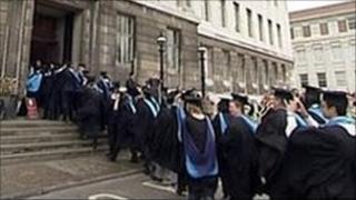Huddersfield University graduation