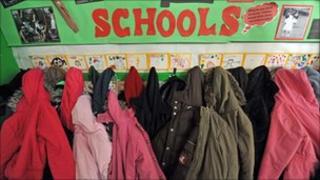 School children's coats