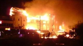 Skegness fire 2007