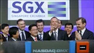 SGX at nasdaq in New york