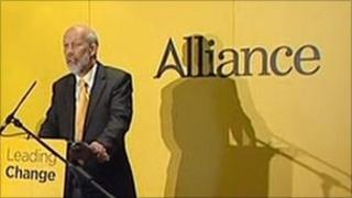 Alliance leader David Ford