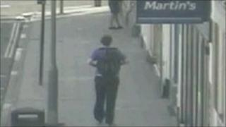 CCTV image of Shawn Williams before his death