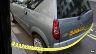 Electric car charging point (generic)