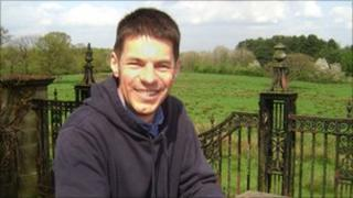 Reverend Mark Slaney at Cuerden Valley Park