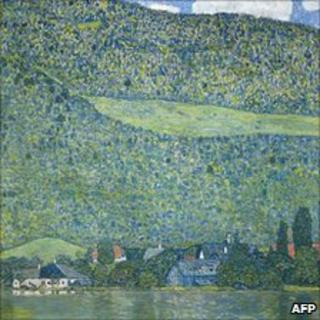 Litzlberg am Attersee by Gustav Klimt