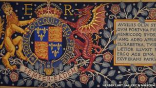 Tapestry at the Herbert Art Gallery & Musuem