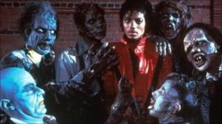 Michael Jackson appeared with zombies on the video to his song Thriller